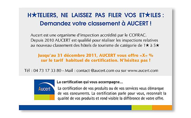 AUCERT - Carte pour e-mailing