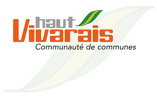 Communauté de communes du Haut-Vivarais (07) - création du logo