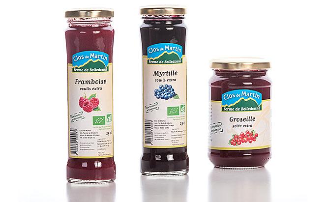 Clos de Martin - design d'une ligne de produits de la ferme