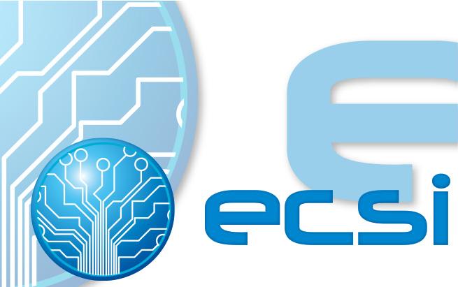 ECSI conception suite de logos, site web et charte