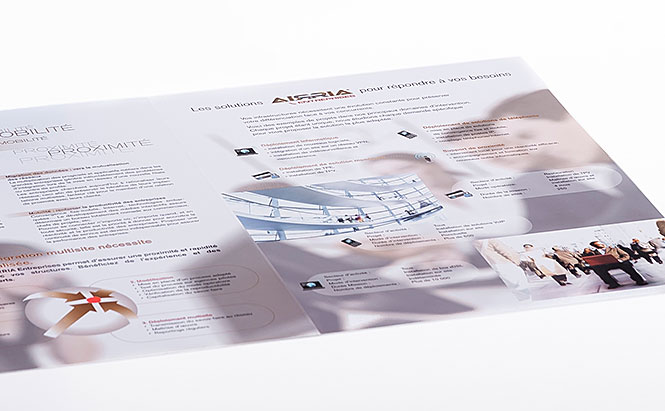 AIRRIA Entreprises - plaquette 2 volets