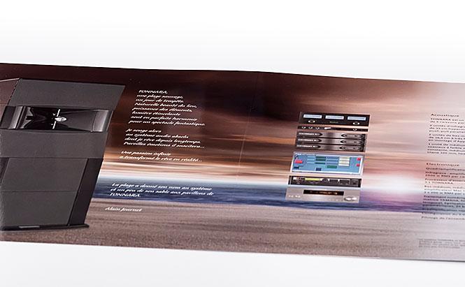 Audiolabo - plaquette système hi-fi