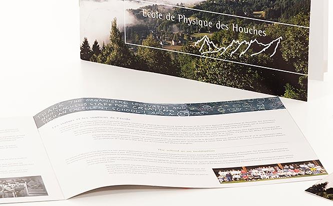 Ecole de Physique des Houches (Haute-Savoie) - brochure