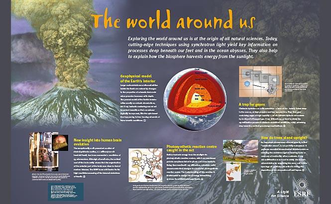 ESRF - panneaux de présentation - Earth Science