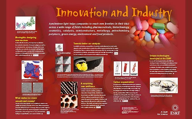 ESRF - panneaux de présentation - Innovation and Industry