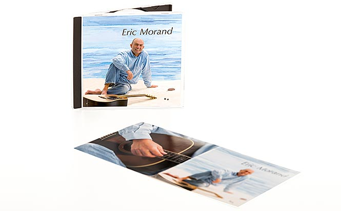 Eric Morand - jaquette et livret CD