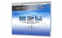 AIRRIA - conception et design du site internet - index